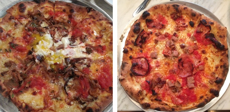 Two Pizza Domenica Pizzas