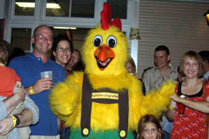 Chicken dancing and beer. 'Nuff said.